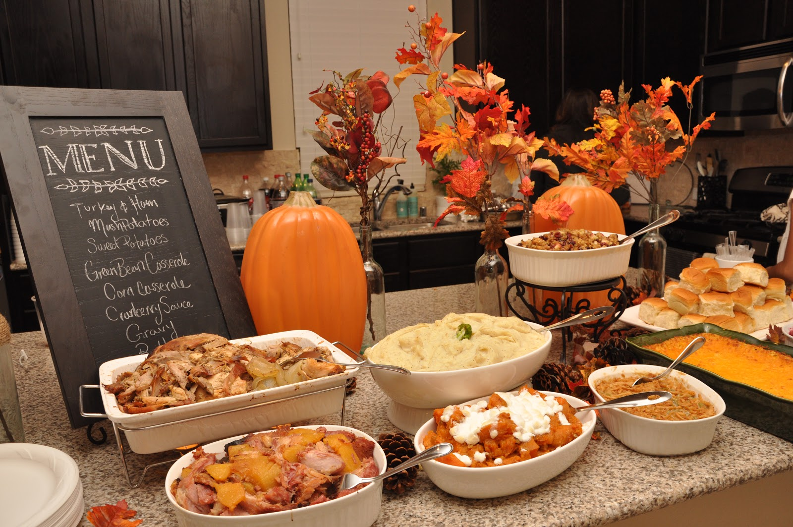 Countdown to thanksgiving 2016 tips for a stress free - Kitchen set up ideas ...