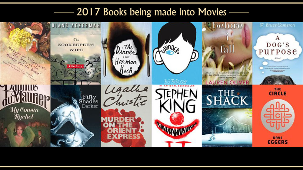 12 Popular Books To Read Before They Hit The Cinemas In 2017